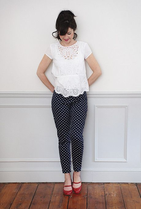 Make yourself a pair of Ultimate Trousers with this perfect pattern.