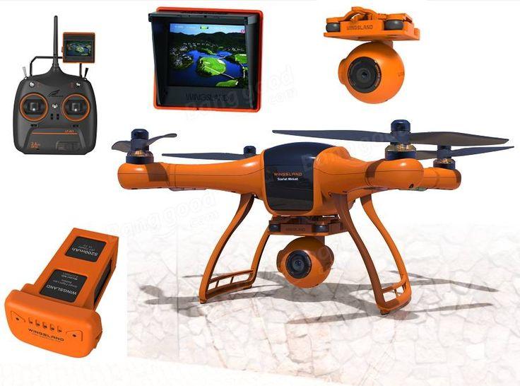 Wingsland Scarlet Minivet 5.8G FPV With HD Camera RC Quadcopter Sale-Banggood.com
