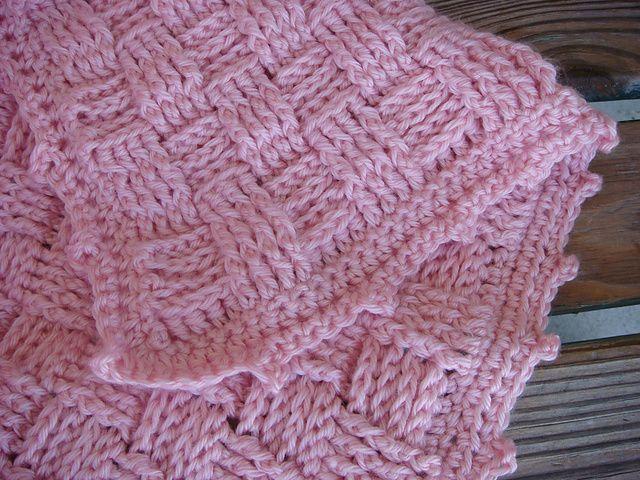 Basket Weave Crochet Baby Blankets And Baskets On Pinterest