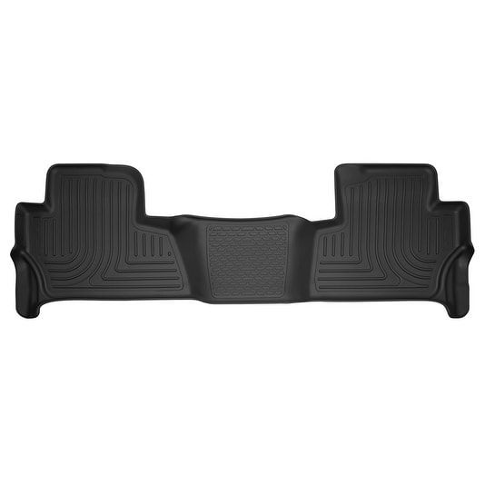 Husky X-act Contour 2015-2016 Chevrolet Tahoe/GMC Yukon 2nd Row Black Rear Floor Mats/Liners