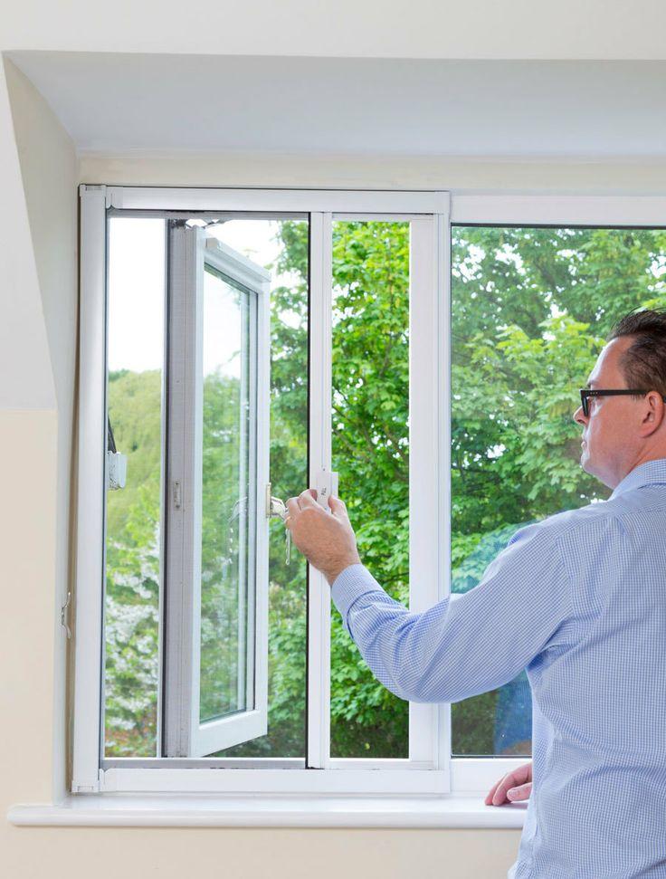 Pull across window fly screen - Medium | Window fly ...