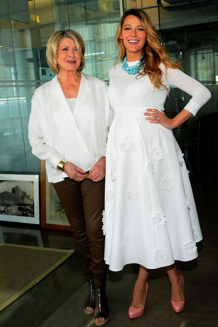 At the 2014 American Made Summit in New York City with Martha Stewart. Photo: Getty Images - ELLE.com