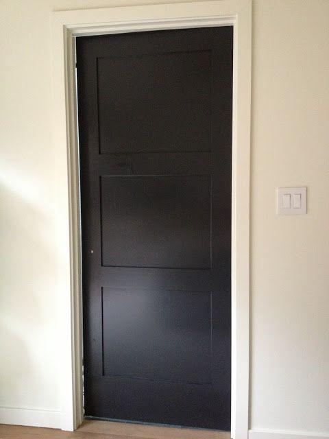 pinterest black doors dark interior doors and paint interior doors. Black Bedroom Furniture Sets. Home Design Ideas