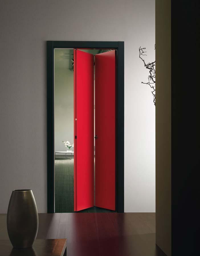 Porta a soffietto www.ferrerolegnoporte.it - Design per Interni - http://designperinterni.tumblr.com/