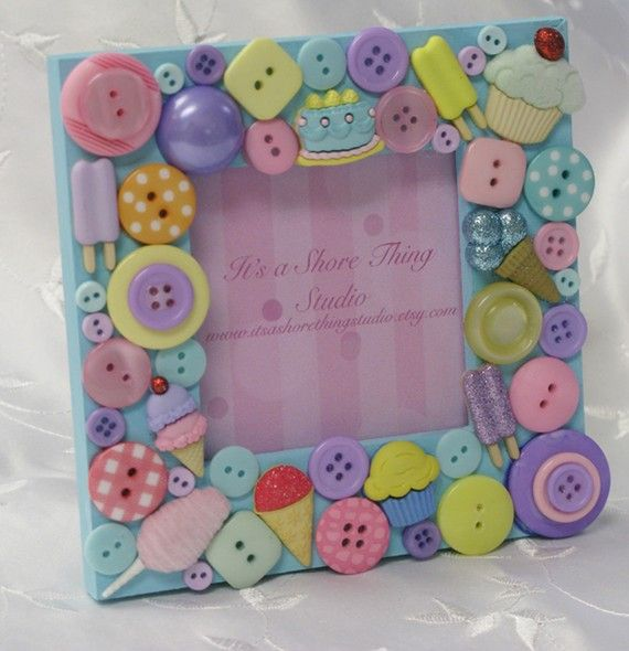 Sweets For the Sweet Embellished Button by ItsAShoreThingStudio, $18.50