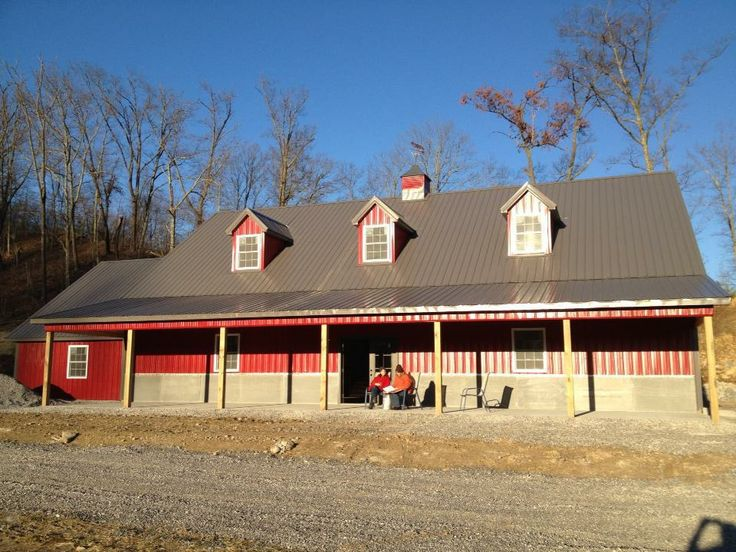 Best 25 pole barn kits ideas on pinterest for Complete barn home kits