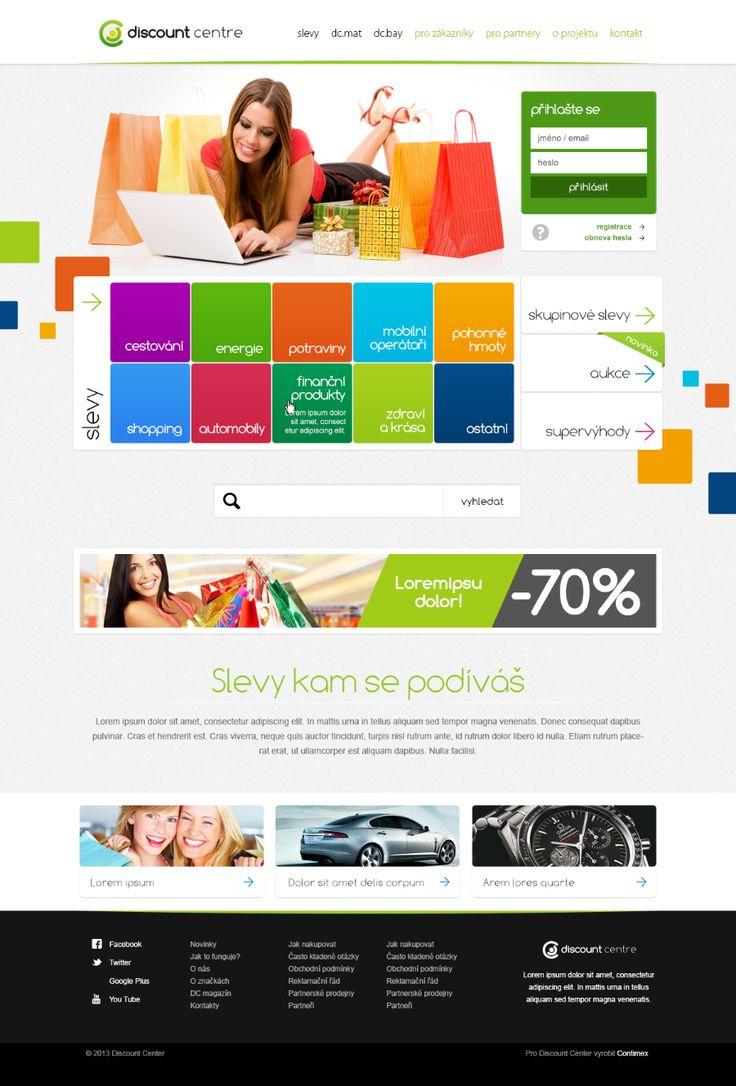 Discount centre #webdesign
