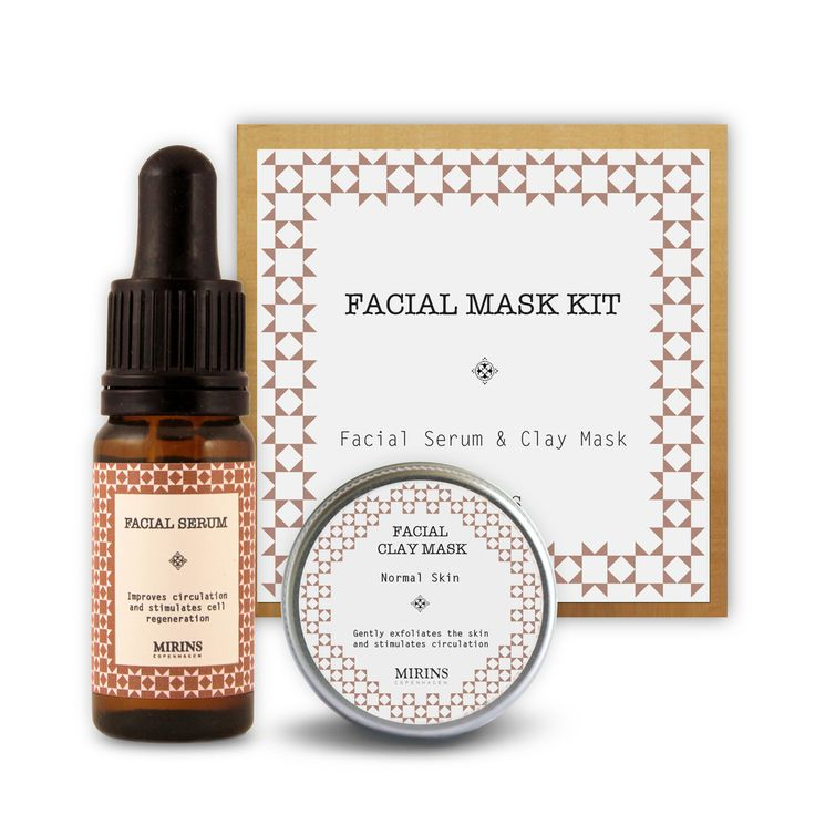 Facial Mask Kit Give your face the nourishment it needs, whatever the season. Includes Facial Clay Mask, mixing bowl & Facial Serum