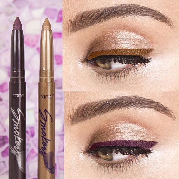 Tarte Cosmetics - UK tartelettes! Beautifully line & define with our smokey shadow stick duo, available today on @QVCbeauty!