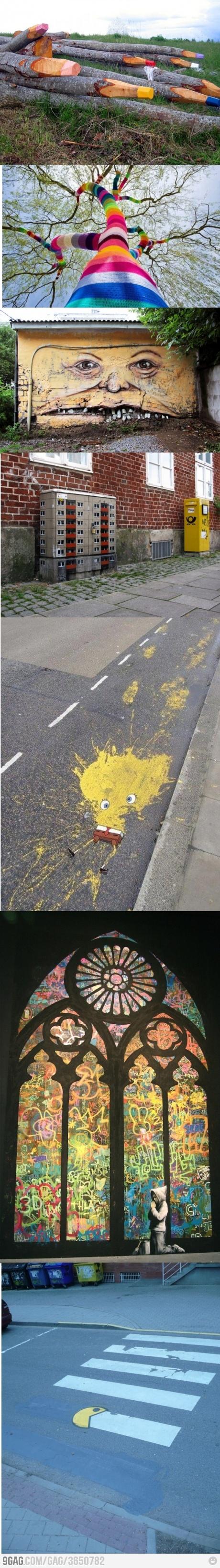 Street art level: 999