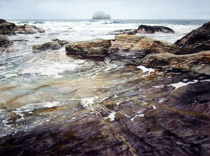 'Running Tide' by Deborah Walker