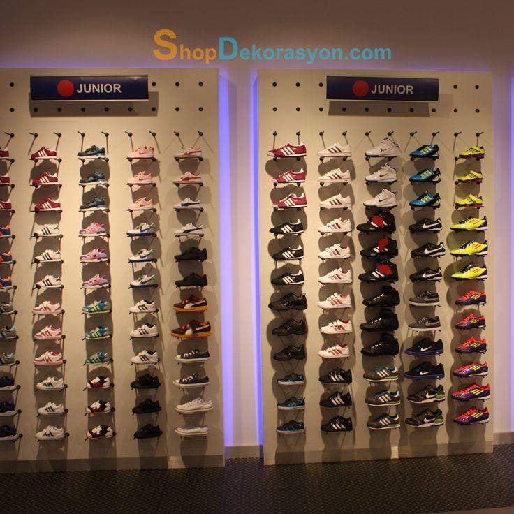 düz ayakkabı tutucu panel