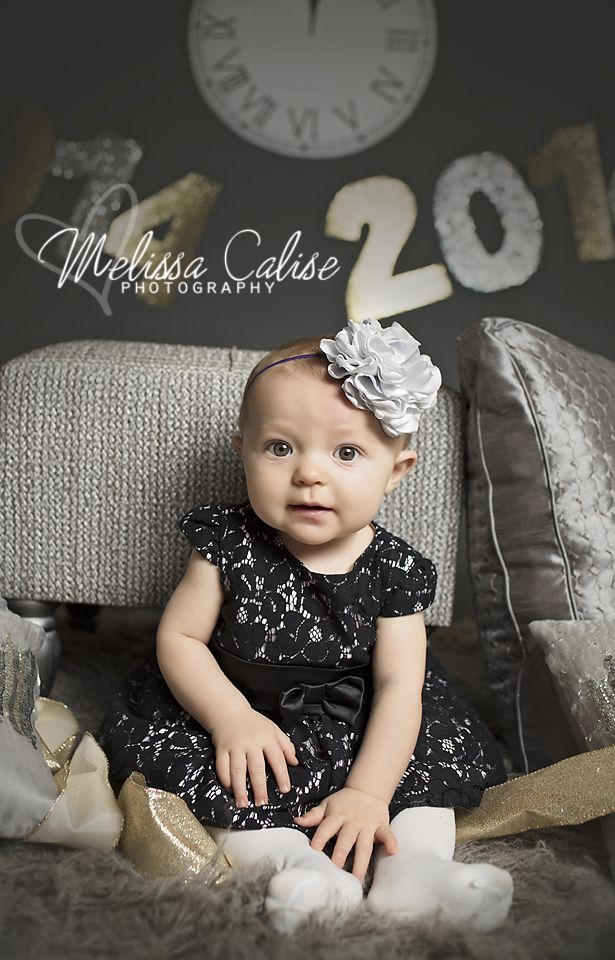 Baby New Year Photography