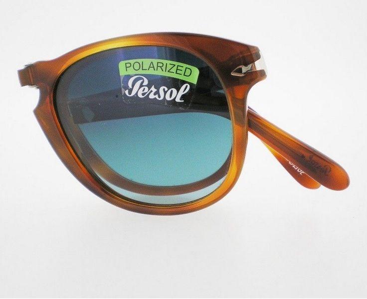 PERSOL 714 SM Steve McQueen Special Ed Folding Sunglasses 26/S3 52 Polarized