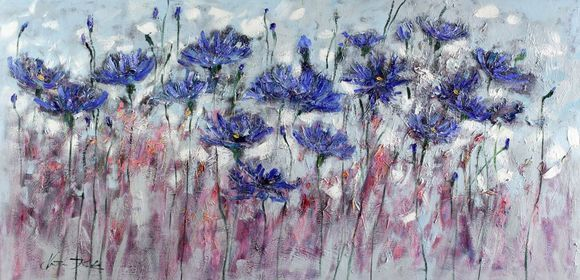Cornflowers Morning