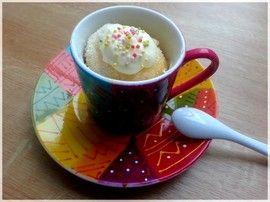 Mugcake à la vanille : la recette facile