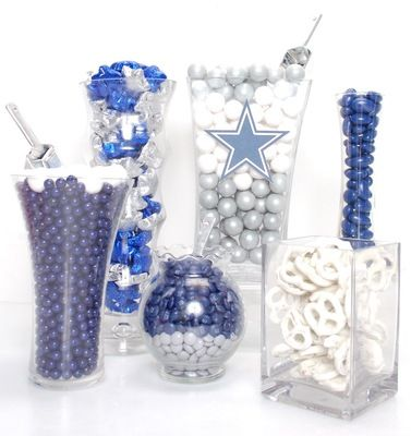 Dallas Cowboys Candy Buffet Kit