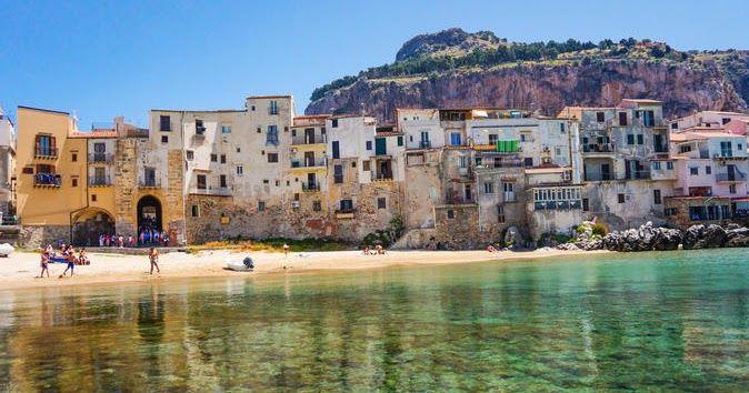 Praias em Palermo #viajar #viagem #itália #italy