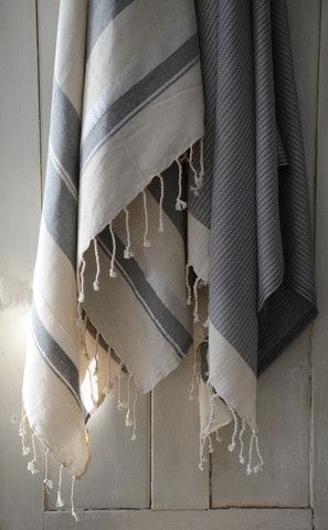 tunisian fouta   $85  traditional fouta is the towel that is attire, worn in bath houses throughout the mediterranean, these towels are...