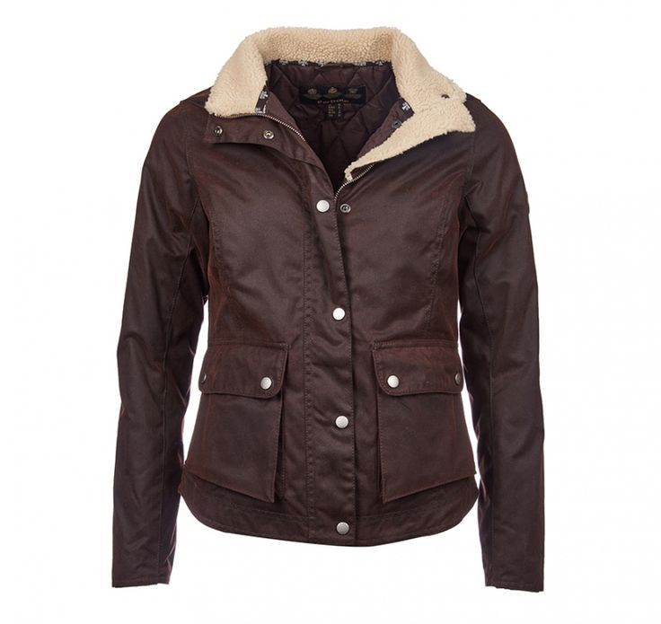 Bahle's of Suttons Bay Barbour Cushat Wax Jacket - LWX0640 Rustic - Was $349 - Now on Sale! $209.99