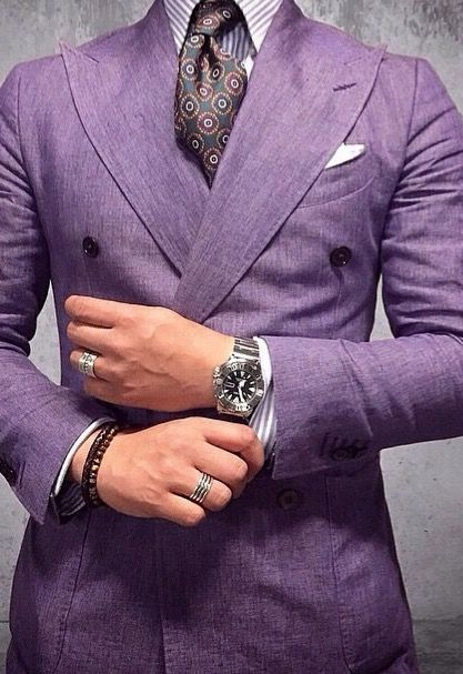 Definitely need a violet suit. Must have.
