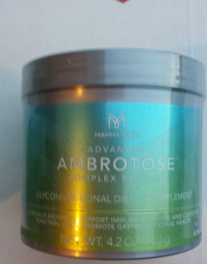 Mannatech Advanced Ambrotose 120g Powder + Free Gift #Mannatech