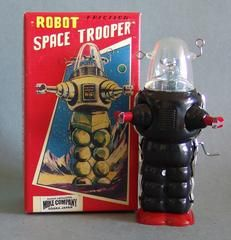 Limited Edition Space Trooper Robot