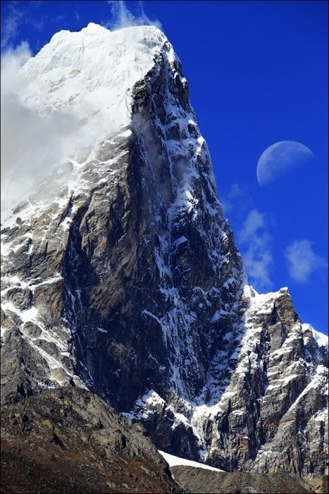 Mt. Everest, Kathmandu, Nepal. I would love to hike this beast, but I love life even more.