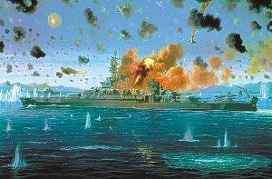 USS Pennsylvania, Battle of Leyte Gulf