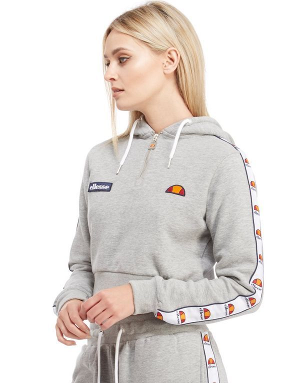 Ellesse Crop Half Zip Hoody to go with the bottoms