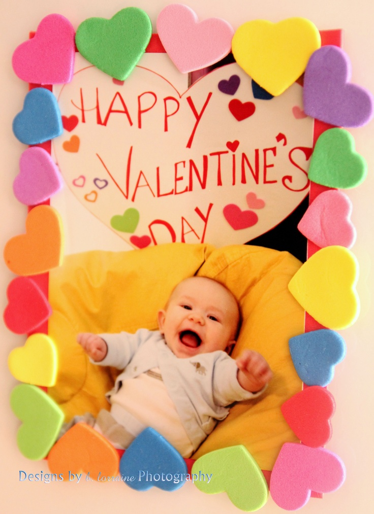 Miss B's Infant Group #2... Valentine -- Magnet Craft for mommy & daddy...
