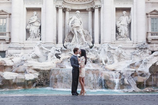 Elegant Rome Love Shoot with In Love in Italy