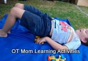 Gross motor activities should be an essential part of every child's life. Try these OT based activities to help your child!