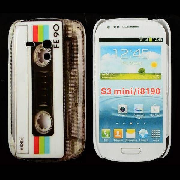 Cassettebandje hoesje Samsung Galaxy S3 mini