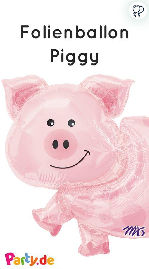 Folienballon Piggy We Bauernhof Geburtstag Pinterest Party