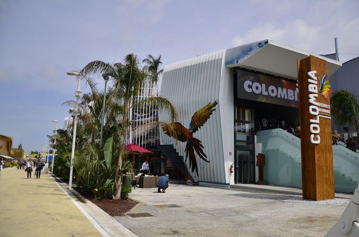 #colombia Pavilion #expo2015 #milan #worldsfair