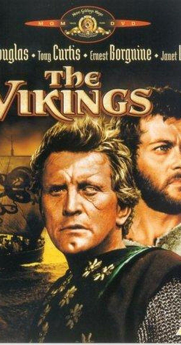 The Vikings (1958) ignore the historical inaccuracies and you have a good old fashioned action film with a great cast.