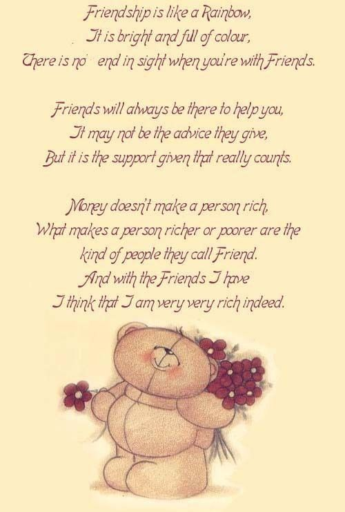 My Best Friend Poems Friendship   Friendship Quotes, Inspiring Friends Poems, Motivational Friendship ...