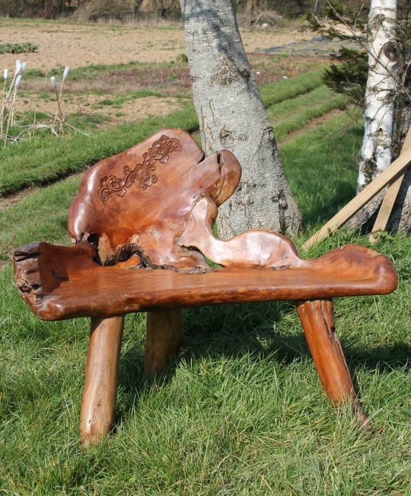 Fair Trade Hand Carved Solid Teak Root Bench   Chair. 133 best Fair Trade Garden Accessories images on Pinterest