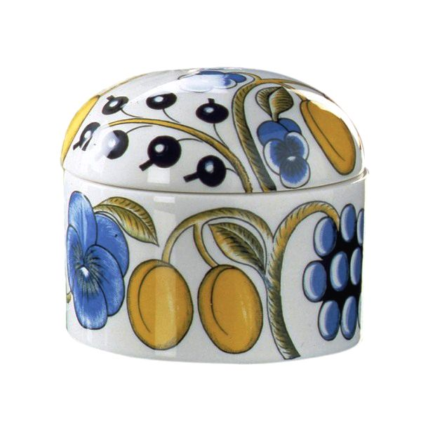 Paratiisi jar with lid, a classic by Arabia