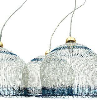 Wire crochet lampshades , PDF pattern tutorial by YoolaYoola