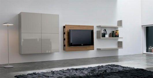 Minimalistické obývací pokoje 5