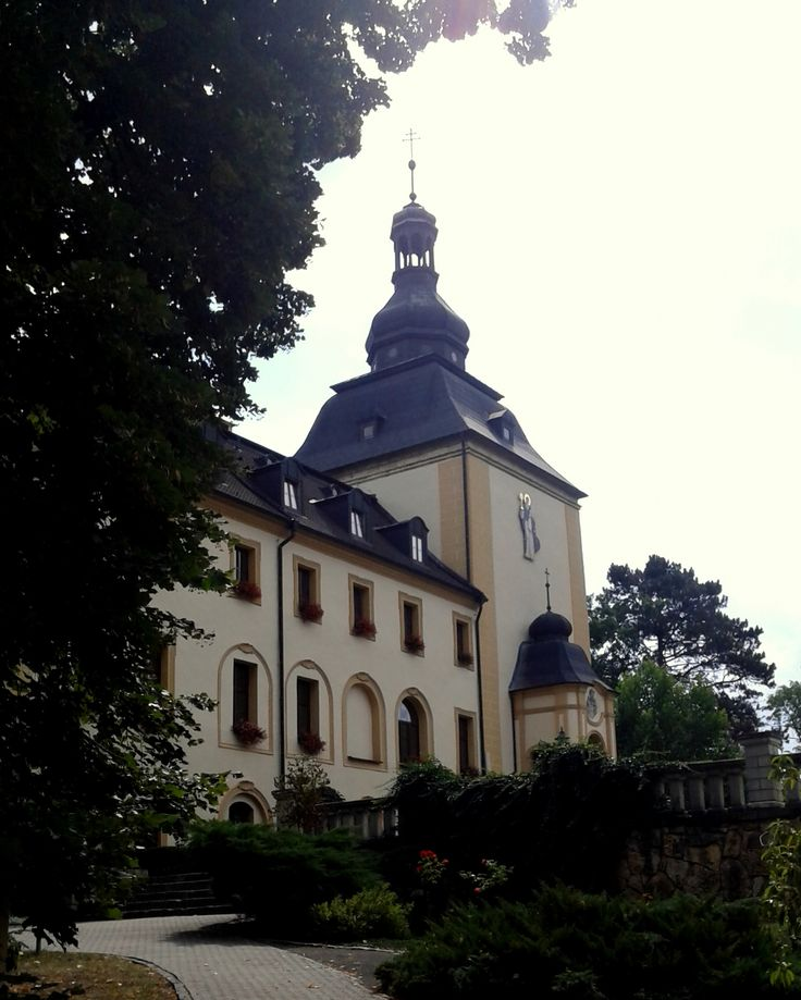 Castle in Kamień Śląski, St. Jack Sanctuary, Poland