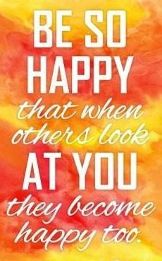 Be happy quote via www.Facebook.com/SilentHymns