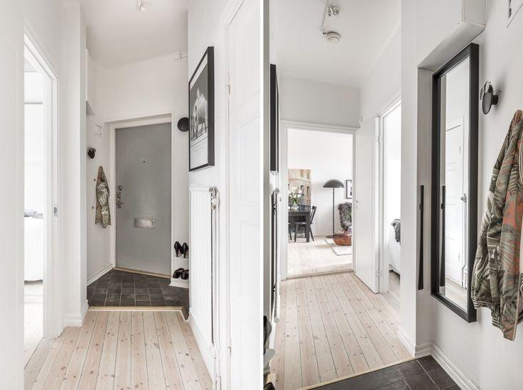 коридор вход в квартиру