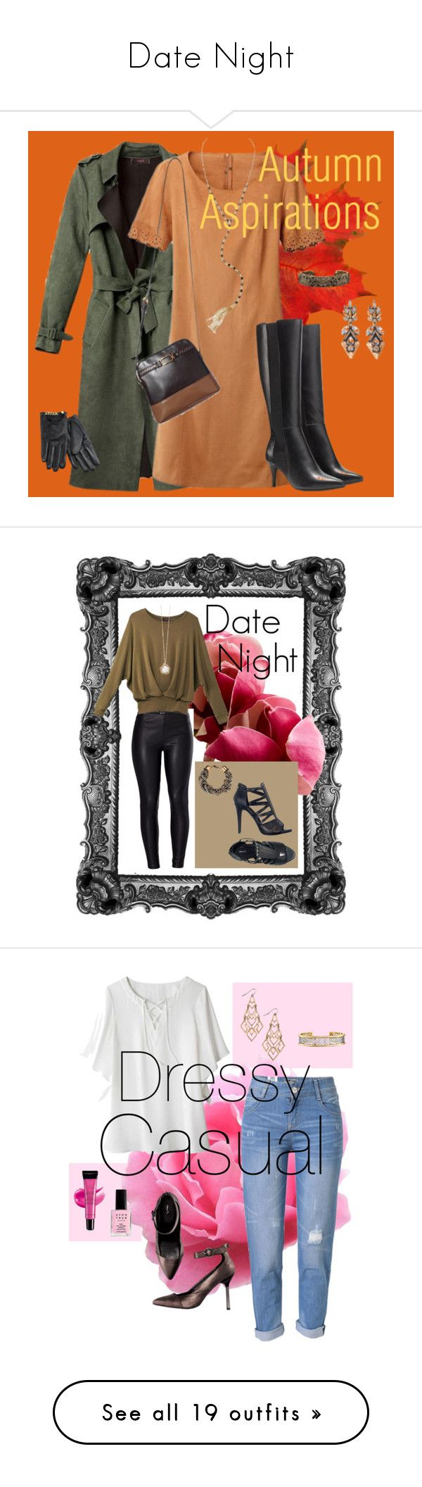"""""""Date Night"""" by heather-murphy-carr ❤ liked on Polyvore featuring Avon, Venus, WithChic, LE3NO, WearAll, Wall Pops! and Post-It"""