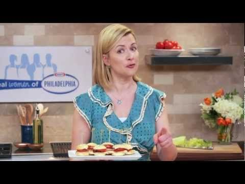 Real Women of Philadelphia, Season 2: Anna Olson's Club Sandwich Scone Bites - YouTube