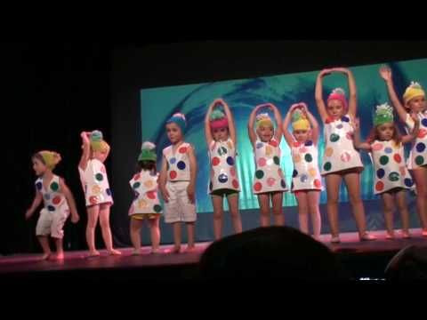spectacle danse amandine - YouTube