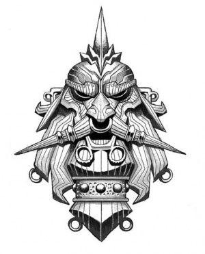 Bůh-předek Grimnir, patron válečníků.