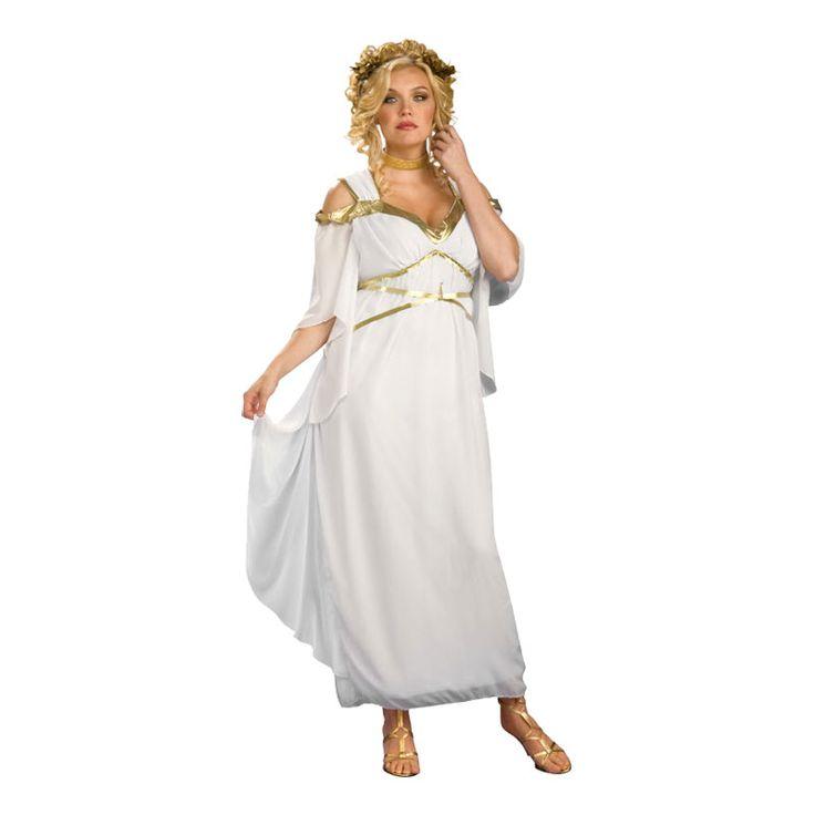 Romersk Gudinna Plus-size Maskeraddräkt